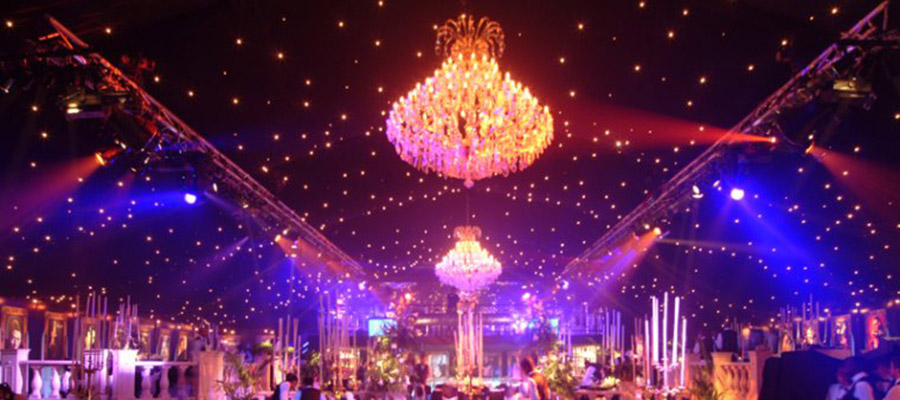 How Lighting will Effect Your Wedding Reception